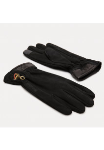 NUBUCK GLOVE WITH TOUCH TIPS