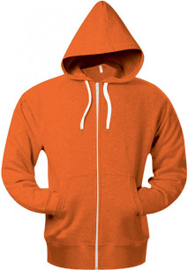FULL ZIPHOODED HEATHER sweatshirt