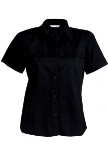 Tropical Lady - Ladies' Short Sleeve Fitted Shirt