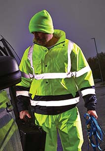 High Visibility Two Tone Jacket