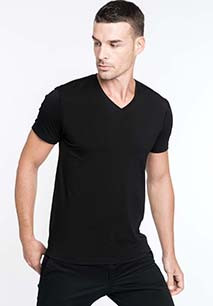 Calypso > Men's short-sleeved V-neck T-shirt