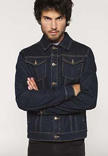 Men's unlined denim jacket