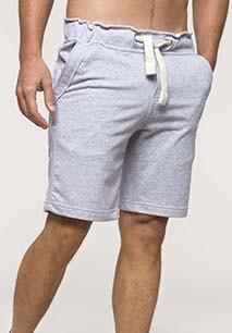 Unisex French terryBermuda shorts
