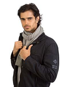 Multipurpose snood tube scarf