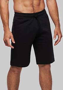 Adult fleece multisport bermuda shorts