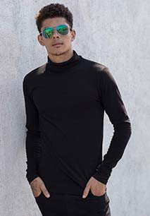 Men's Feel Good Roll Neck T-Shirt