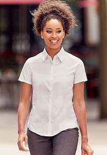 Ladies' Short-Sleeved Ultimate Stretch Shirt