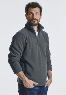 Zip Neck Fleece Jacket