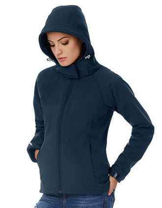 Hooded Ladies' Softshell Jacket
