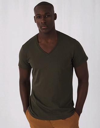 Men's Organic Cotton Inspire V-neck T-shirt