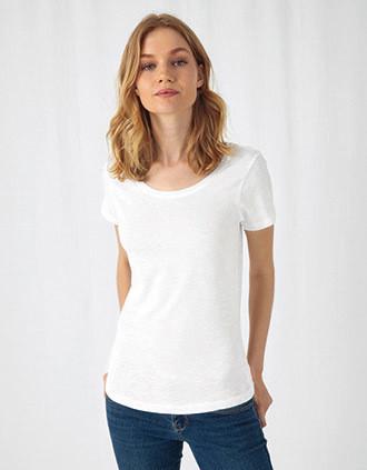 Ladies' Organic Slub Cotton Inspire T-shirt