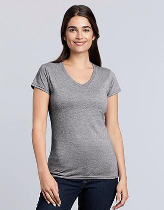 Ladies' Softstyle V-neck T-shirt