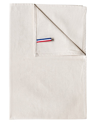"Organic Hand towel - Tea towel ""Origine France Garantie"""