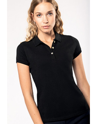 Ladies' Supima® short sleeve polo shirt