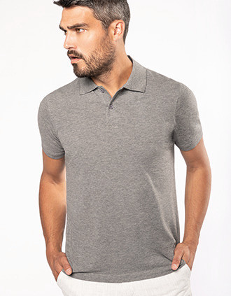 Men's Organic 180 piqué polo shirt
