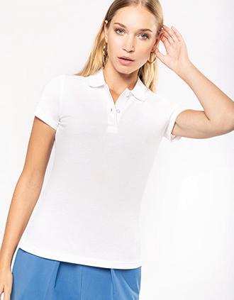 Ladies' Organic 180 piqué polo shirt