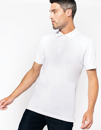 Mike > Men's short-sleeved polo shirt