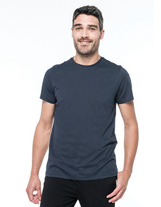 Men's short-sleeved Supima® crew neck t-shirt