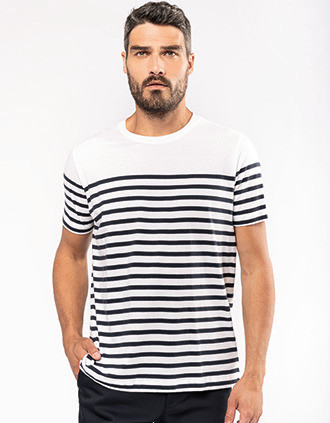 Men's Organic crew neck sailor T-shirt