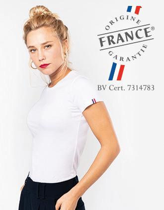 T-shirt Bio Origine France Garantie femme