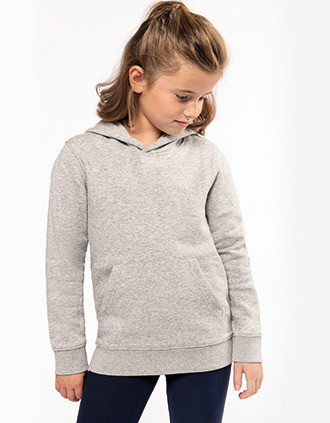Kids' eco-friendly hooded sweatshirt