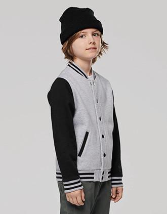 Kids teddy fleece jacket