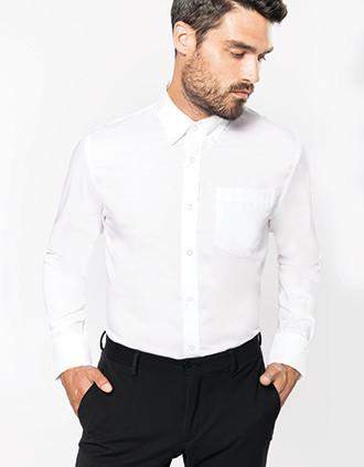 Long-sleeved non-iron shirt