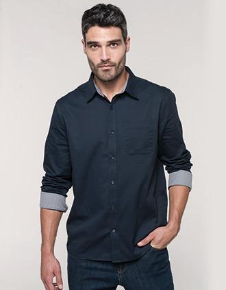 Men's Nevada long sleeve cotton shirt