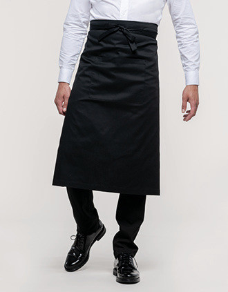 Polycotton extra-long apron