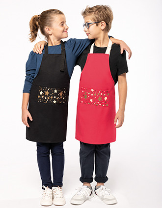 "Kids' Christmas apron ""Origine France Garantie"""