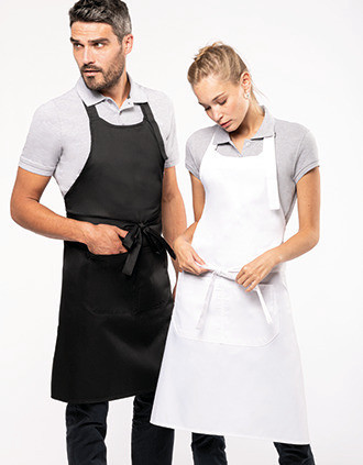 Polycotton apron high-temperature washable
