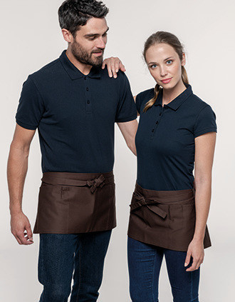 COTTON SHORT APRON