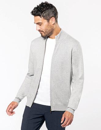 Premium full zip cardigan