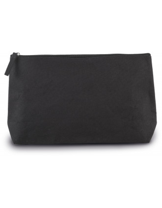 Cotton canvas toiletry bag