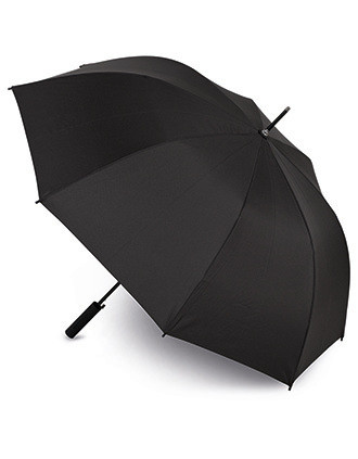 Umbrella with doming decoration access on handle