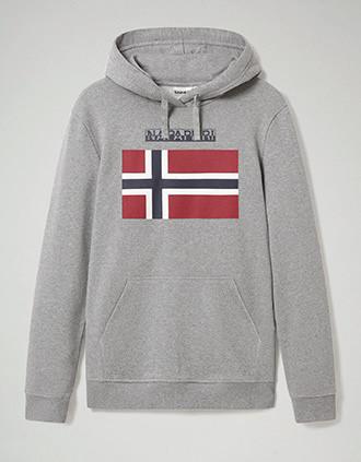 Bellyn H hooded sweatshirt