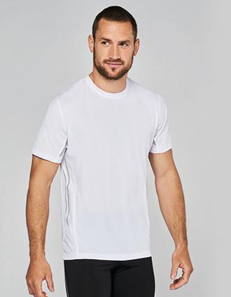 Men's short-sleeved sports T-shirt