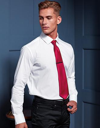 Satin colours tie