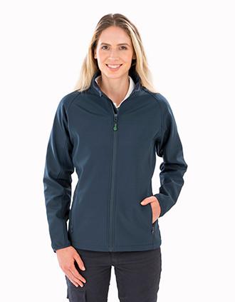 Ladies' recycled softshell jacket