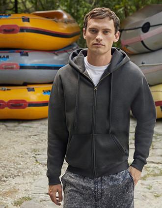 Men's Premium Full Zip Hooded Sweatshirt (62-034-0)