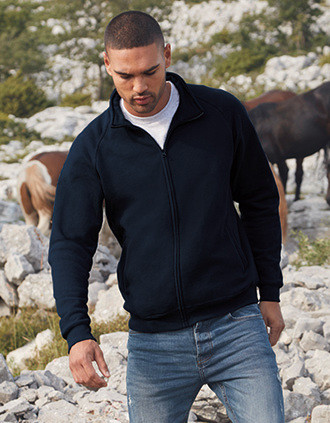 Men's Classic Full Zip Sweat Jacket (62-230-0)