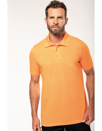 Men's shortsleeved polo shirt