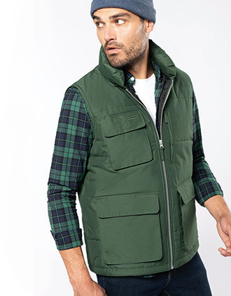 Quilted bodywarmer