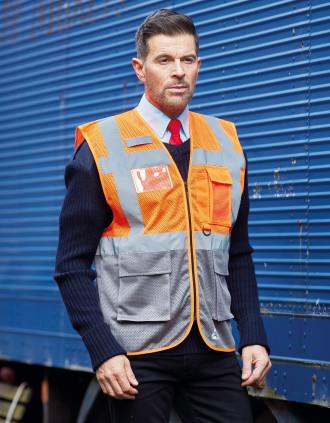 Hi-Vis Top Cool executive waistcoat